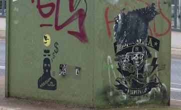 Photo: Stencil; Unknown Artist & L.E.T.