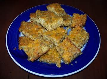 Artichoke Cheese Squares