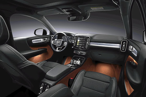 The interior will offer plenty of tech and design options from modern Swedish to this more sporty exec theme. Picture: VOLVO