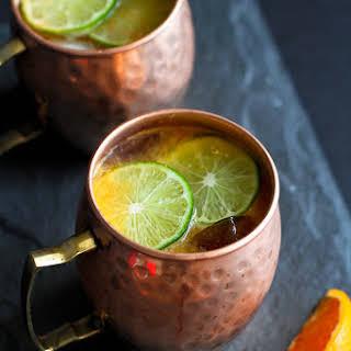 Fresh Orange Moscow Mule.