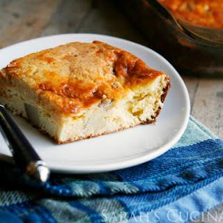 Cheesy Roast Beef Hash Egg Bake.