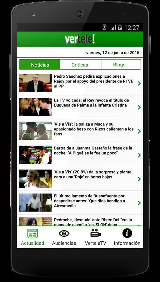 Vertele - screenshot