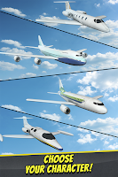 Screenshot of 3D Infinite Airplane Flight