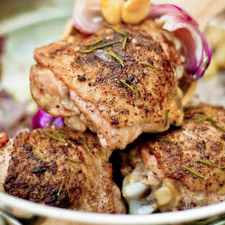 Oven-Roasted Rosemary Chicken Thighs.