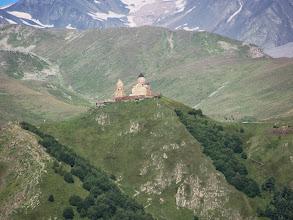 Photo: Bergkirche Zminda Sameba 2070 m