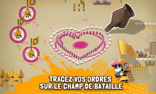 Tactile Wars  captures d'u00e9cran 2