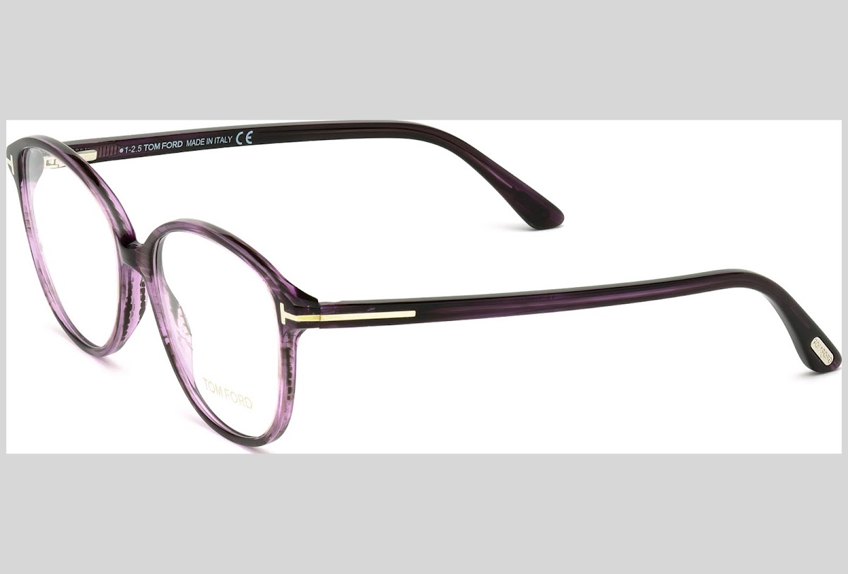 fb5ae1a43ac529 Buy Tom Ford FT5390 C51 081 (shiny violet   ) Frames   Blickers