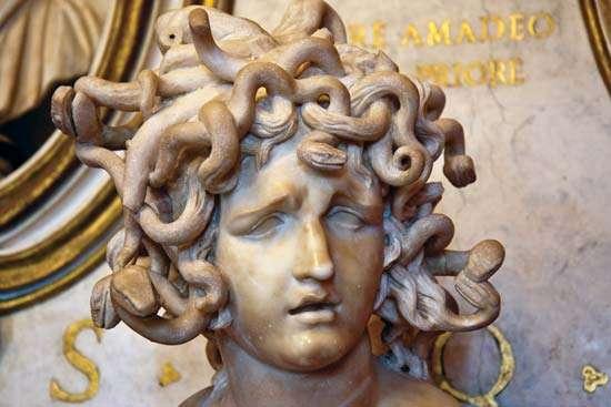 Bust of Medusa