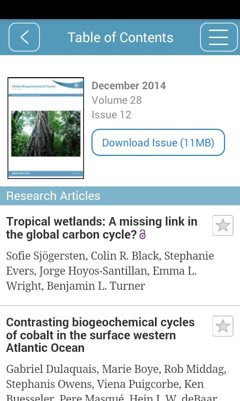 Global Biogeochemical Cycles- screenshot
