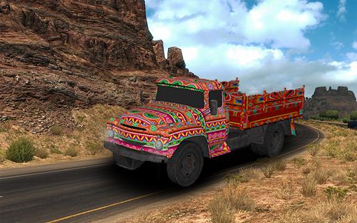 Asian Truck Simulator 2019: Truck Driving Games 2.3 screenshots 14