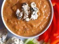Healthy Buffalo Bean Dip Recipe