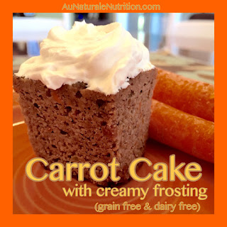 Carrot Cake with Tangy Vanilla Frosting.