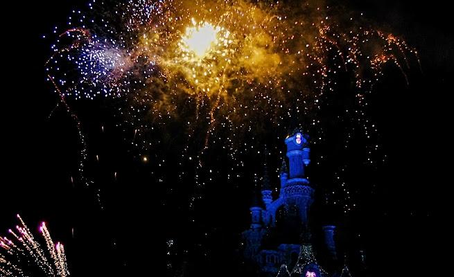 Fuochi d'artificio a Disneyland Paris di LaMony