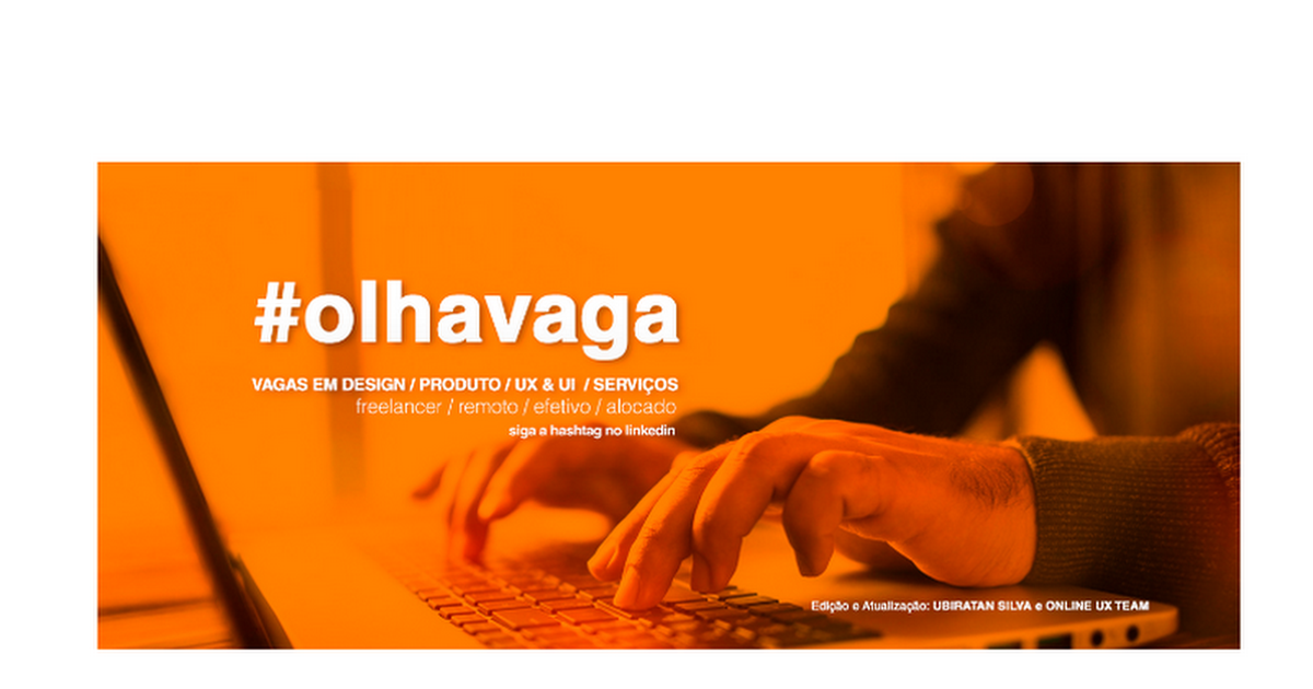 #olhavaga