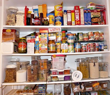 I cleaned my pantry
