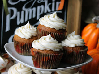 Robin's Moist And Yummy Pumpkin Cupcakes Recipe
