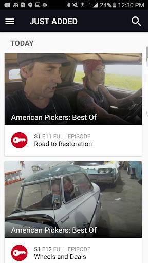 HISTORY: Watch TV Show Full Episodes & Specials Screenshot