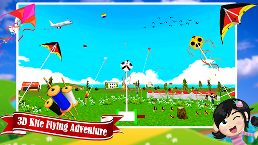 Basant The Kite Fight 3D : Kite Flying Games 2020  captures d'écran 1