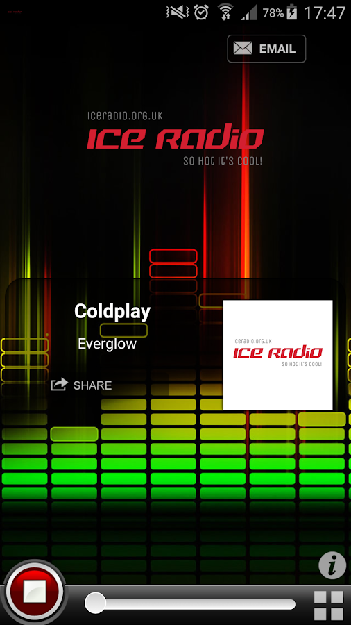 Ice Radio UK- screenshot