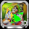 Bal Krishna 3D cube Live WP icon