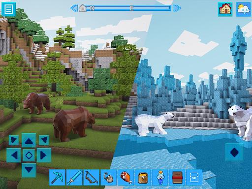 EarthCraft 3D: Block Craft & World Exploration 3.9.2 APK MOD screenshots 1