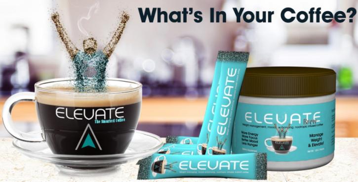FREE Sample of Elevate Coffee.