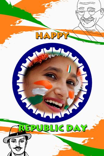 Republic Day Photo Frame 2018 - 26 Jan Photo Frame 15.0 screenshots 1