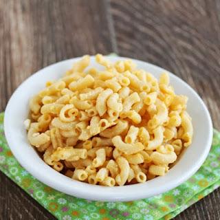 Healthier Kraft Macaroni and Cheese.