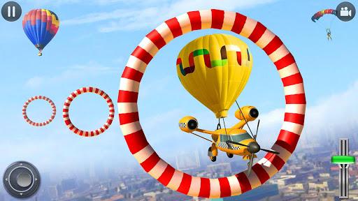 Flying Taxi Simulator: Air Balloon Taxi Driving 3D 1.0.3 screenshots 2