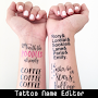 Tattoo Editor With My Name APK icon
