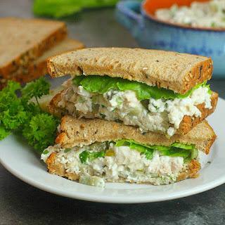 Healthier Chicken Salad Recipe with Cottage Cheese Recipe