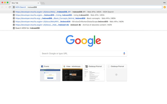 MDN Search
