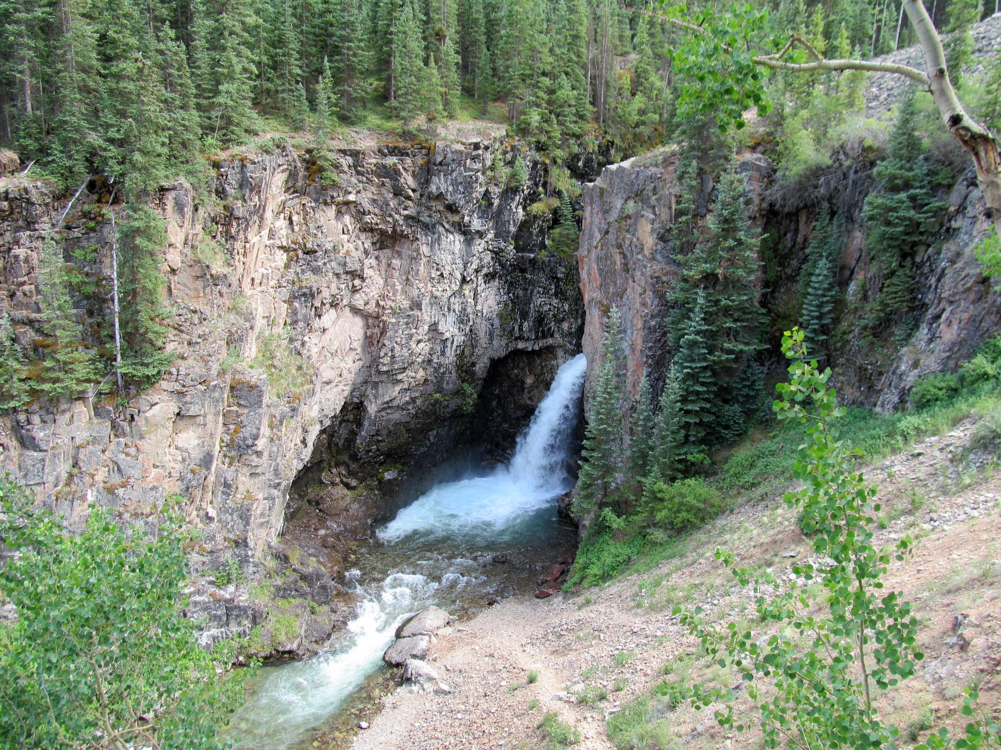 Photo: Whitmore Falls along Henson Creek