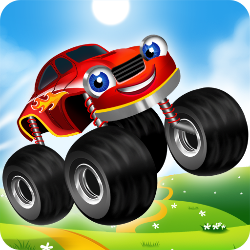 Monster Trucks Game for Kids 2