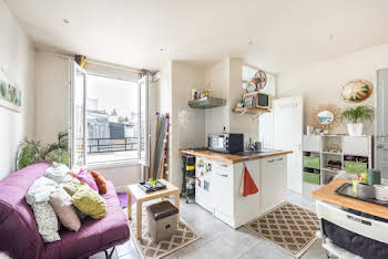Studio meublé 16,66 m2