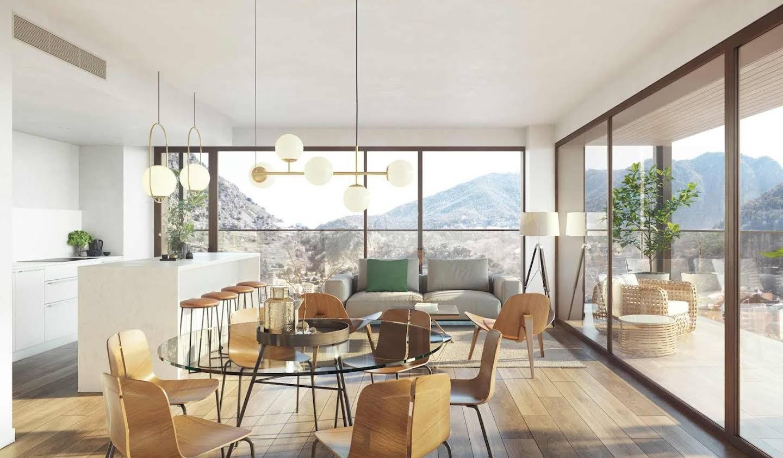 Appartement contemporain avec terrasse Les Escaldes