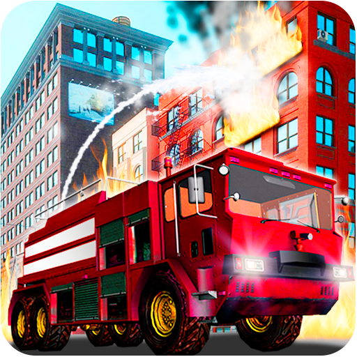 Fire Truck Emergency Rescue - Driving Simulator