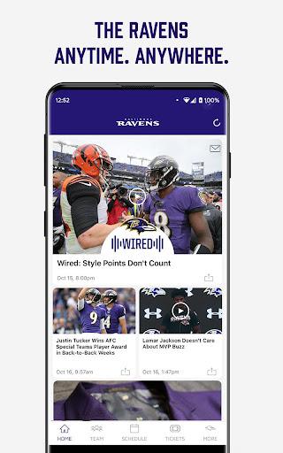 Baltimore Ravens Mobile screenshot 1
