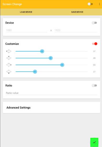 Screen Change:JellyBean 4.3