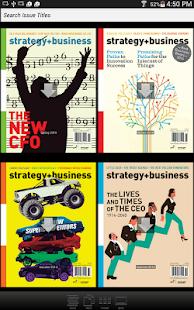 strategy+business magazine- screenshot thumbnail