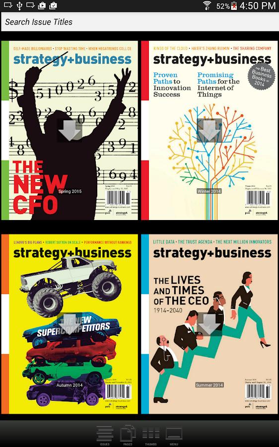strategy+business magazine- screenshot