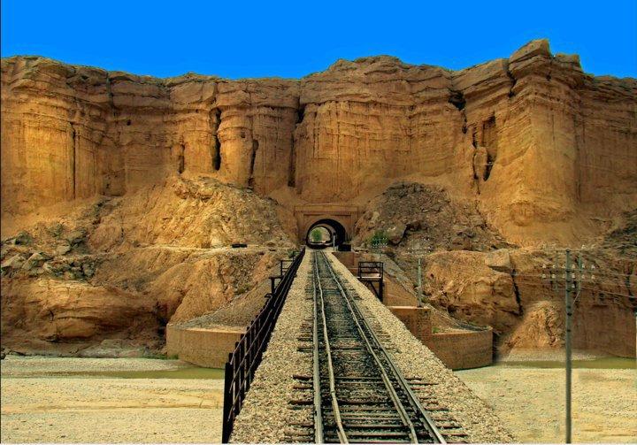 Rail Track in Quetta