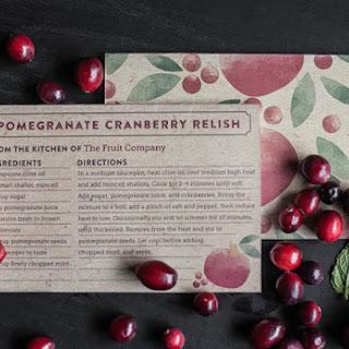 Pomegranate Cranberry Relish