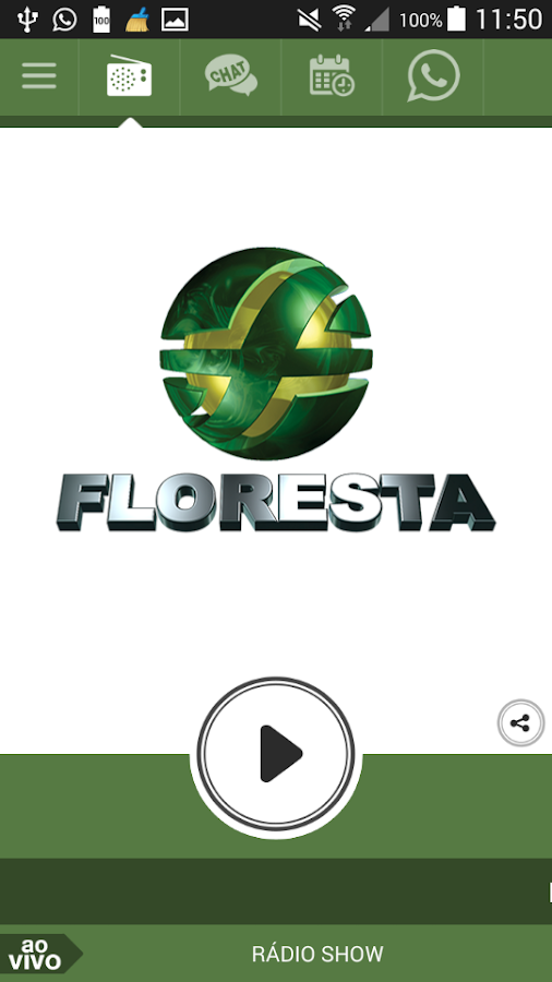 Rádio Floresta FM- screenshot