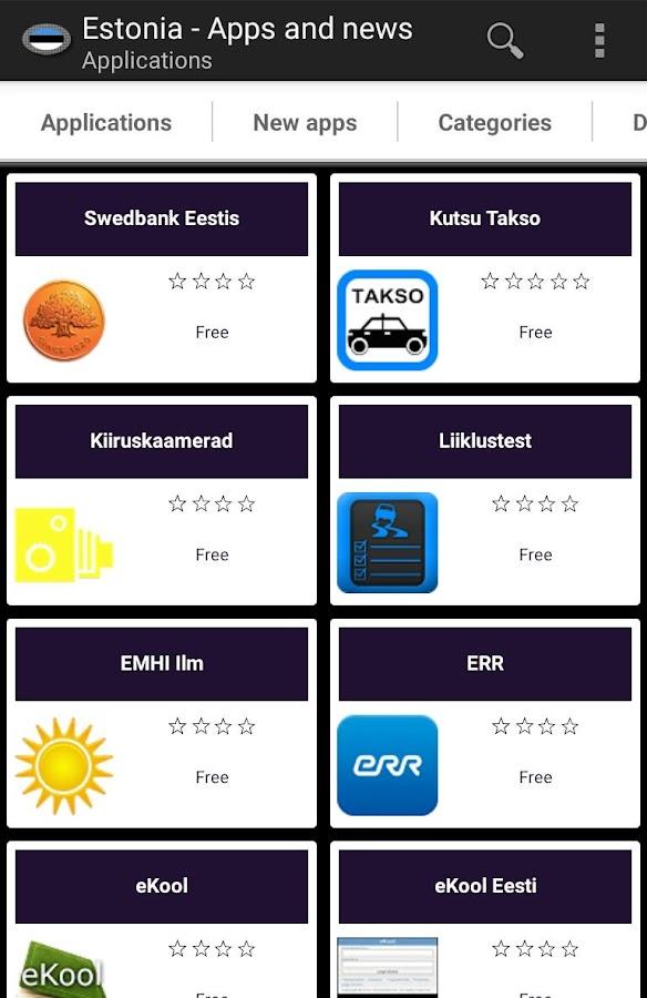 Estonian apps and tech news