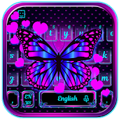 Butterfly Heart Keyboard Theme
