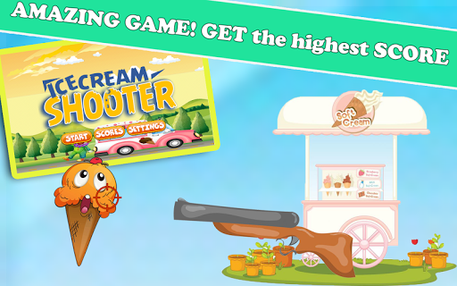 Ice cream sniper shooter drop
