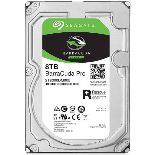 Ổ cứng HDD PC Seagate Barracuda Pro 8TB 3.5