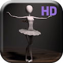 Ballet Dancer HD Live Wallpap icon