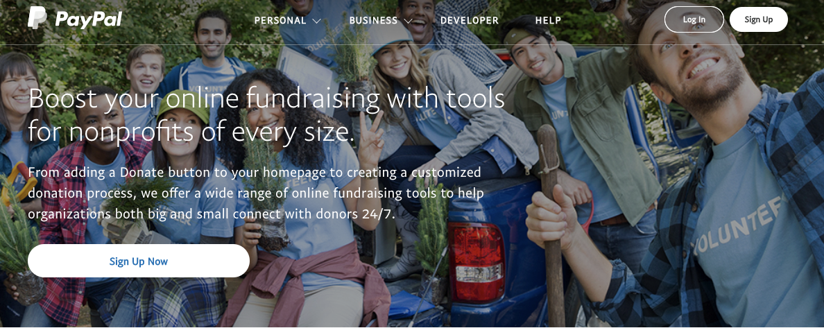 PayPal provides tools and features that let your nonprofit accept and securely process financial contributions.